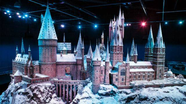 Hogwarts in the Snow at Warner Bros