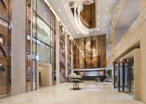 Lobby Your great Chengdu journey begins with the Dorsett Grand Chengdu