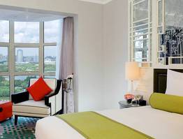 Save 15% on Deluxe Park View Room