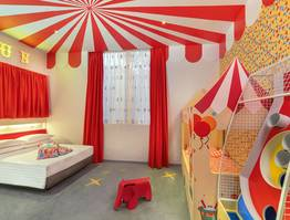 Animal Circus Themed Room