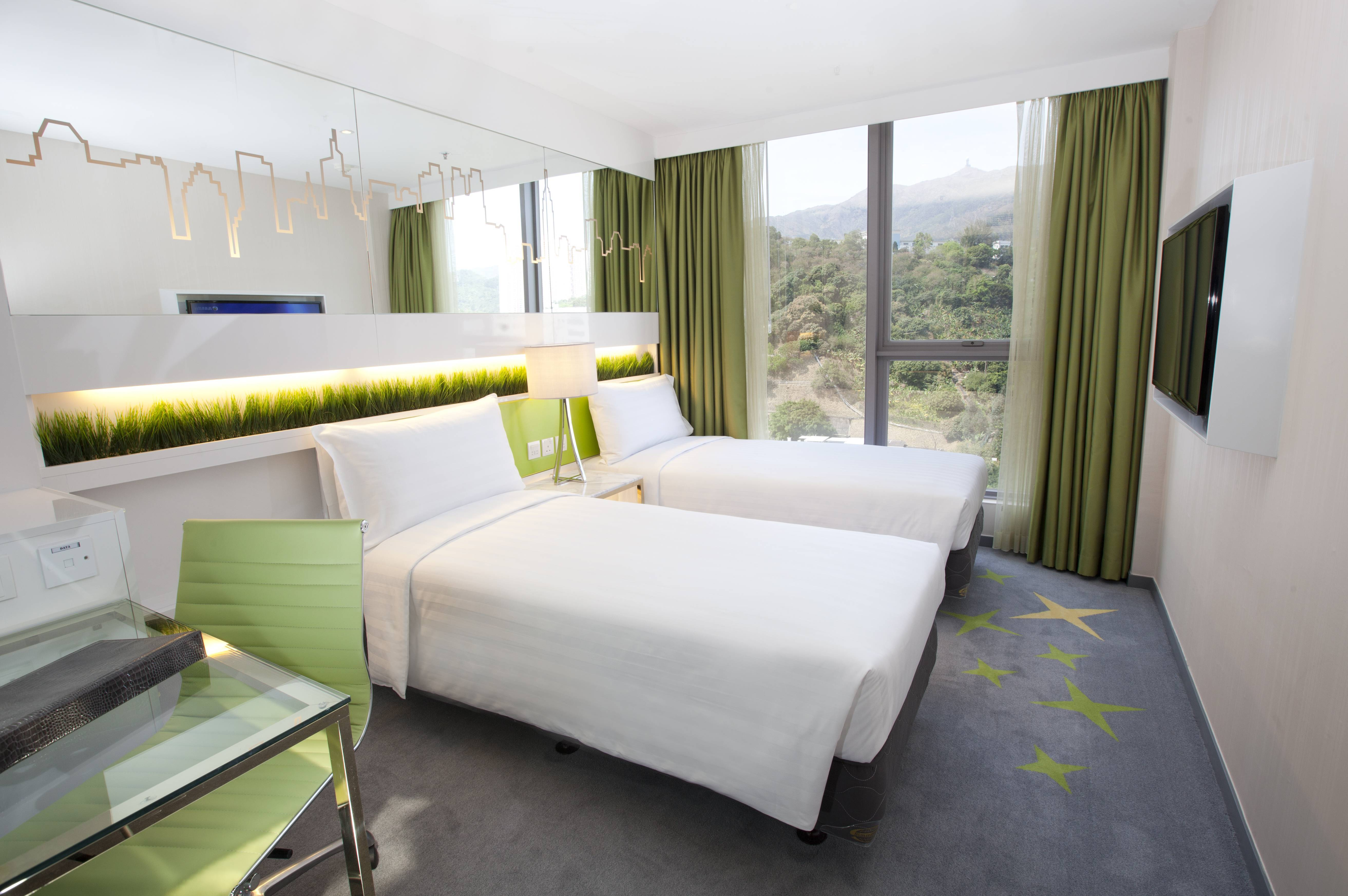 Dorsett Twin Room A fresh and modern design touch with plenty of room