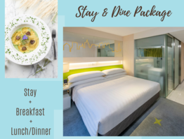 """Stay & Dine"" Package"
