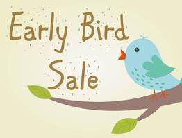 Early Bird 21 / 45 Days - Save Up To 25%