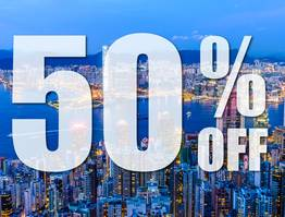 Hong Kong Residents 50% Off