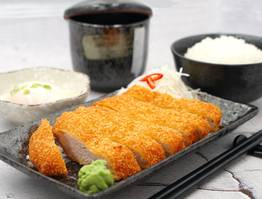 Japanese Cutlet Dinner Set