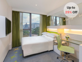 Long Stay Package for 7 – 9 nights (Up to 25% Off)