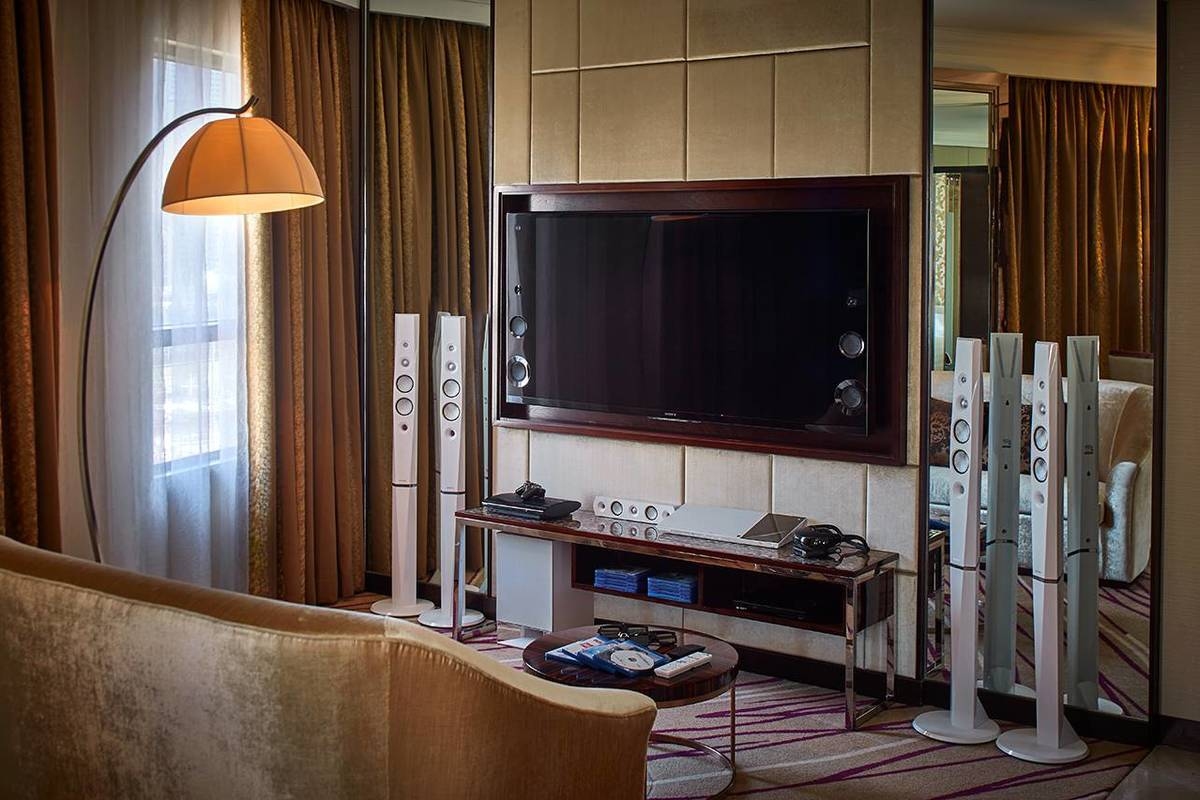 Sony 4K 3D Experience Suite - Be pampered and entertained with our state-of-the-art home audio-visual system
