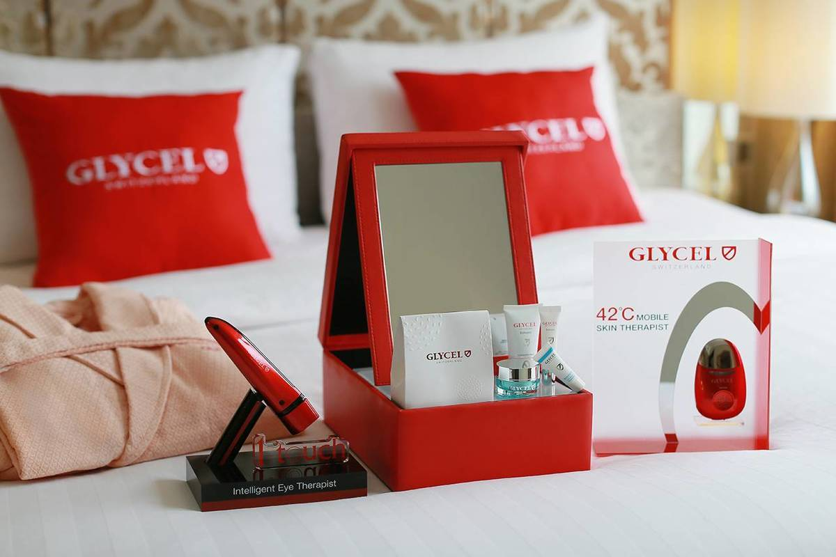 "Glycel Supreme Beauty Suite - Takes you on a ""beauty journey"" in this luxurious suite"