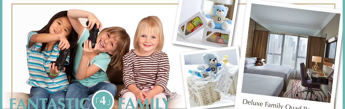Fantastic 4 Family - up to 52% OFF