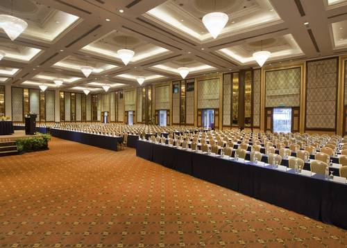 Extremely spacious grand ballroom that accommodate all your need
