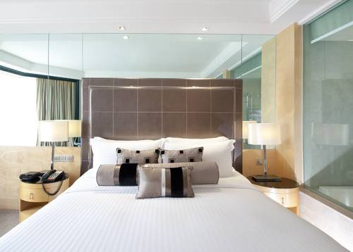 Pleasant King size bed with well-furnished room, bring the relaxation to another level