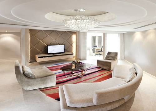 Chill with your friends and family in the most spacious living area with games and laughter