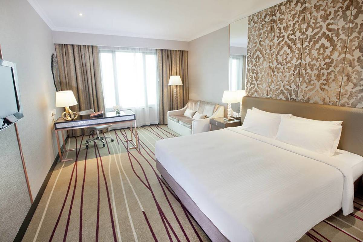 Dorsett King/Twin Room  A contemporary styled and spacious room with comfort in mind