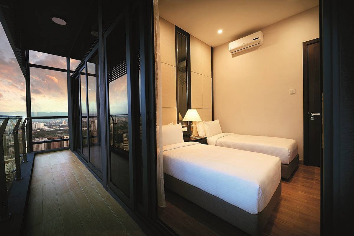 Two Bedroom Premier Suite - Dorsett Residences Bukit Bintang  Work or play, start your day in this luxurious suite