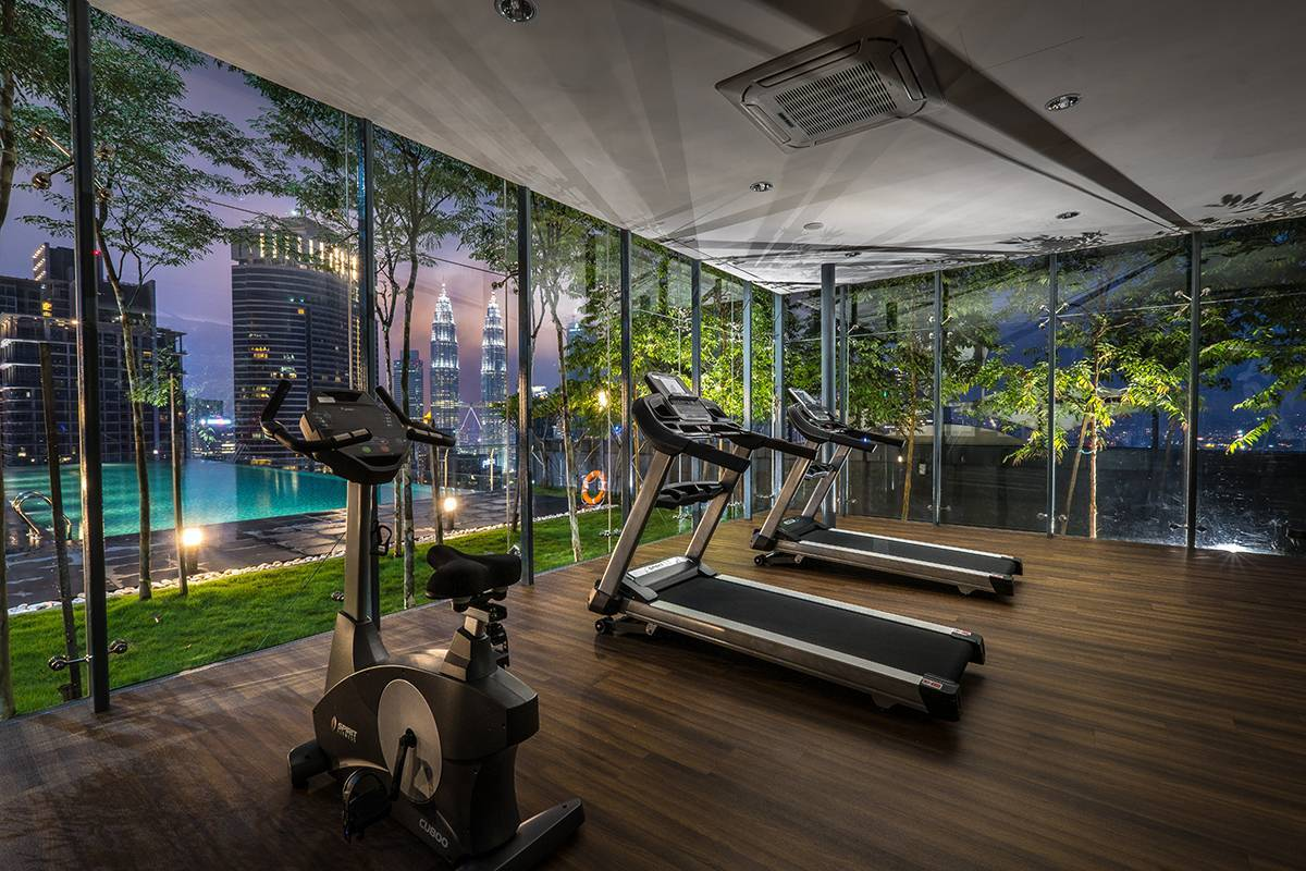 Get into shape and work those muscles in our studio