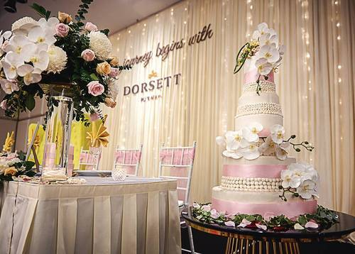 Taste our scrumptious and carefully-designed wedding cake at Dorsett Putrajaya