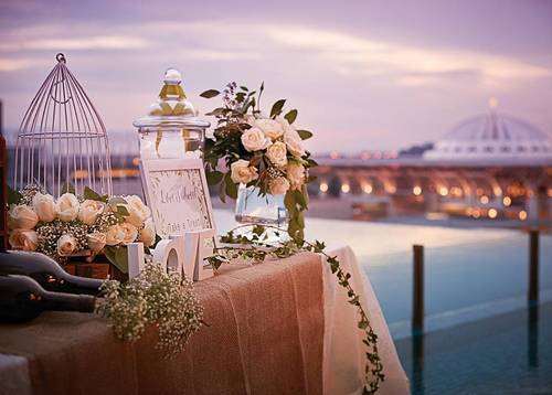 Inspired Wedding at Dorsett Putrajaya (ROM by the pool) Be at ROM by the pool at the Dorsett Putrajaya