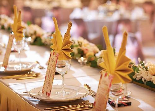 Inspired Wedding at Dorsett Putrajaya (Table Set-up: Malay Wedding) An inspired Malay wedding table set-up that will please all