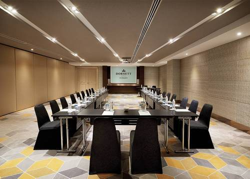 The Convertible Precinct Room can be used in U shape