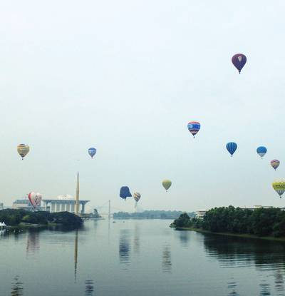 Hot Air Balloon Putrajaya布城熱氣球