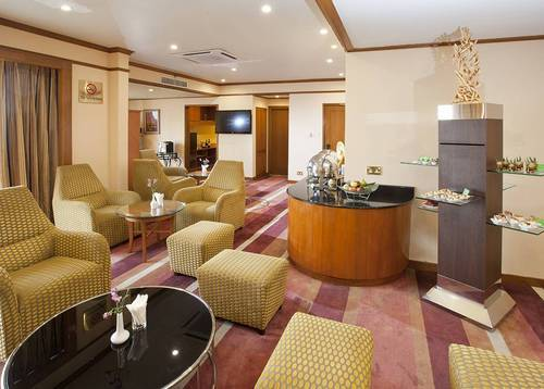 Executive Lounge Exclusive access for those staying in an Executive Room or Premier Suite.