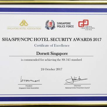 Hotel Security Excellence Award 2017