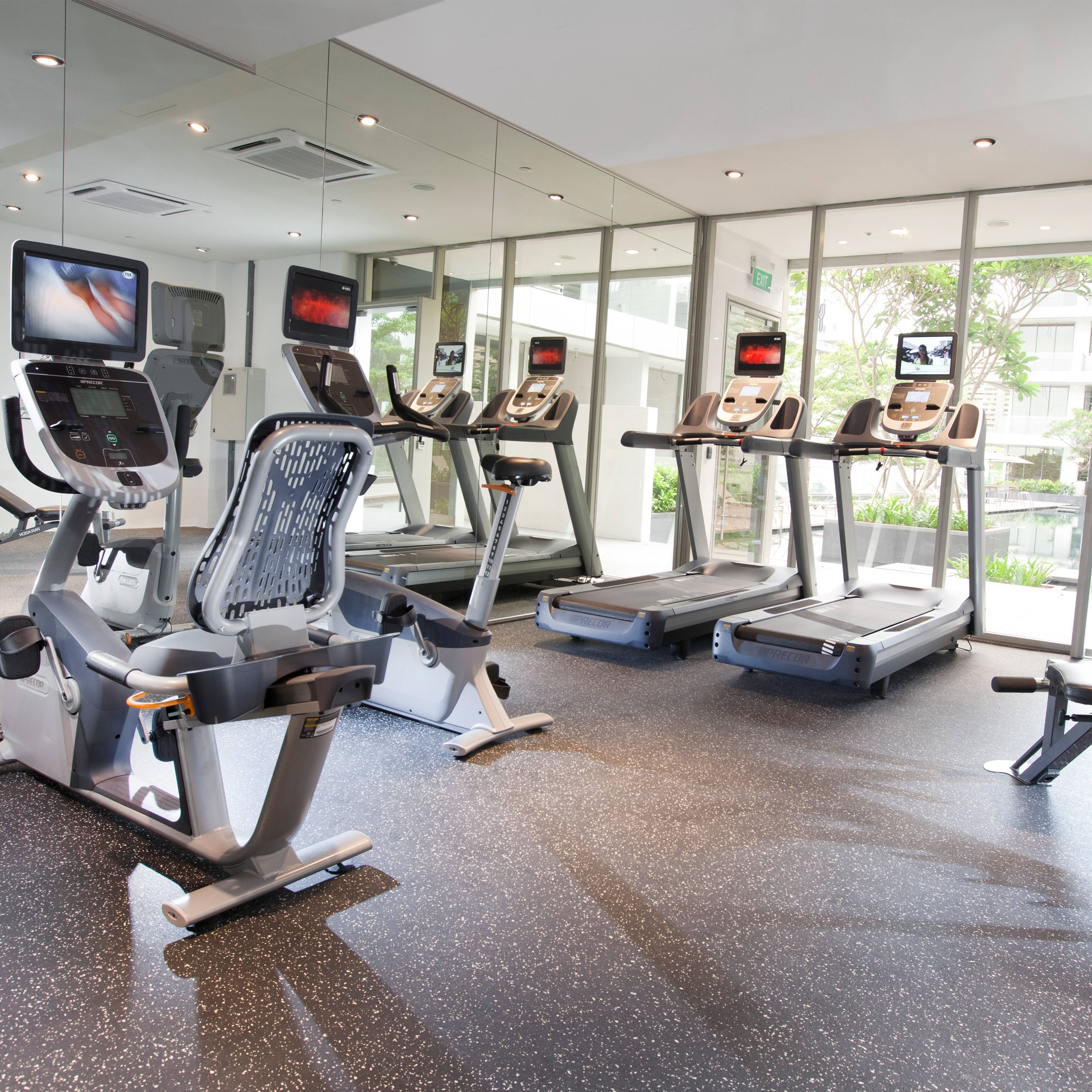 Fully equipped gymnasium - Unwind and recharge at our gymnasium