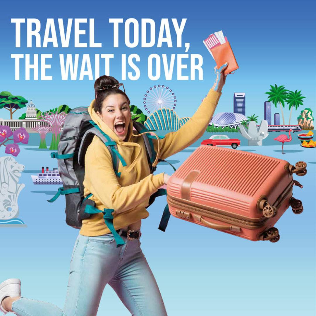 Travel Today, The Wait is Over
