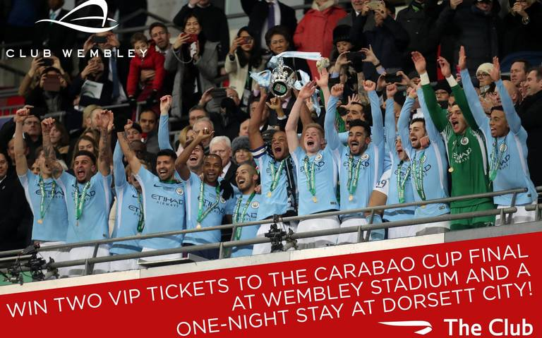 Win Two Premium Club Wembley Tickets to the Carabao Cup Final....